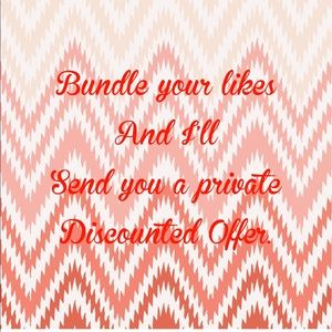 Other - Bundle your likes for a discounted offer